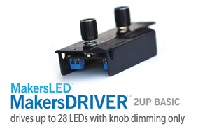 2UP BASIC: Knob Dimming LED Driver