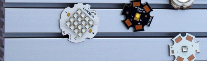 LED Packages with the MakersLED HEATSINK