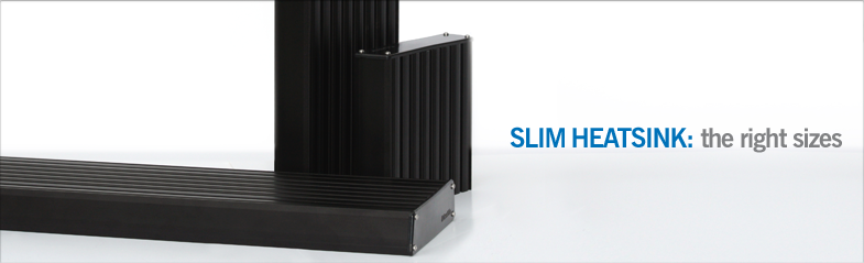 Makers HEATSINK SLIM-The Right Size.