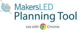 Makers LED Plan Tool